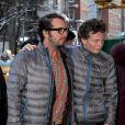David Bar Katz lors de la veillée funèbre en l'honneur de Philip Seymour Hoffman à New York le 6 février 2014