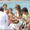 La Reine Rania de Jordanie à Saint-Tropez