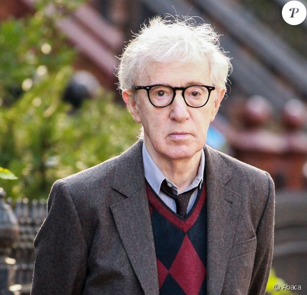 Woody Allen sur le tournage du film Fading Gigolo à New York le 13 novembre 2012