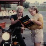 Gwen Stefani : Rondouillette à 14 ans avec son idole Sting