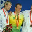 Alain Bernard et Amaury Leveaux sur le podium du 50m !