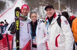 Sotchi 2014 - Albert de Monaco : Avec Charlene et Corinna pour lancer les Jeux