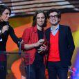 Phoenix lors de la 29e cérémonie des Victoires de la Musique, le 14 février 2014 au Zénith de Paris.