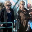 Julia Roberts et sa mère Betty Lou à Los Angeles le 12 janvier 2010.