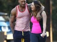 Kelly Brook, amoureuse du beau David : Un week-end sportif et romantique