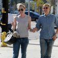 Ellen Degeneres et Portia de Rossi se baladent le jour de la Saint-Valentin à West Hollywood, le 14 février 2014.