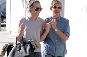 Ellen DeGeneres et Portia de Rossi : Saint-Valentin complice entre amoureuses