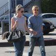 Ellen Degeneres et Portia de Rossi se baladent, main dans la main, le jour de la Saint-Valentin à West Hollywood, le 14 février 2014.