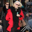 Cynthia Germanotta (mère de Lady Gaga) à New York, le 18 février 2014.