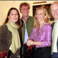 Caroline et Ernst August de Hanovre avec Sabine et Wolfgang Koechert