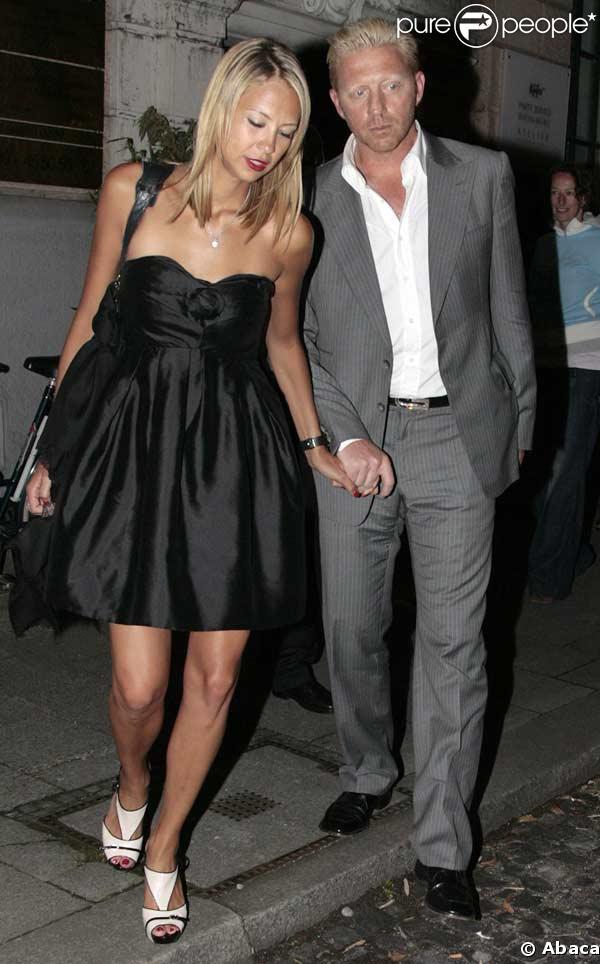 Boris Becker et sa fiancée Alessandra Meyer-Woelden
