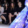 Kate King, Monica Bellucci, Bianda Brandolini d'Adda et Eva Herzigovaassistent au défilé Dolce & Gabbana automne-hiver 2014-15 à Milan. Le 23 février 2014.