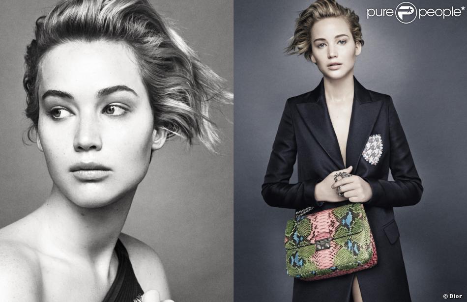 Jennifer Lawrence, dans la nouvelle campagne Miss Dior