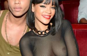 Rihanna : seins nus, audacieuse et provoc', à la Fashion Week de Paris