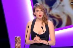 César 2014 : Adèle Haenel actrice dans un second rôle sacrée face à Julie Gayet