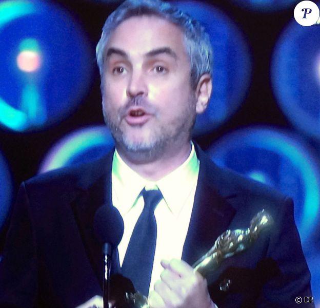 Alfonso Cuaron, sacré meilleur réalisateur pour Gravity aux Oscars 2014.