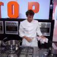 """La tension est maximale lors de l'épreuve des mentors. """"Top Chef 2014"""", le 3 mars 2014."""