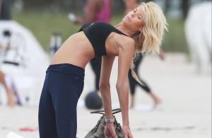 Victoria Silvstedt : Séance de yoga et sexy en bikini, la bombe éblouit
