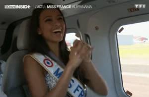 Flora Coquerel : Poses en bikini et baptême de l'air, la Miss rayonne !