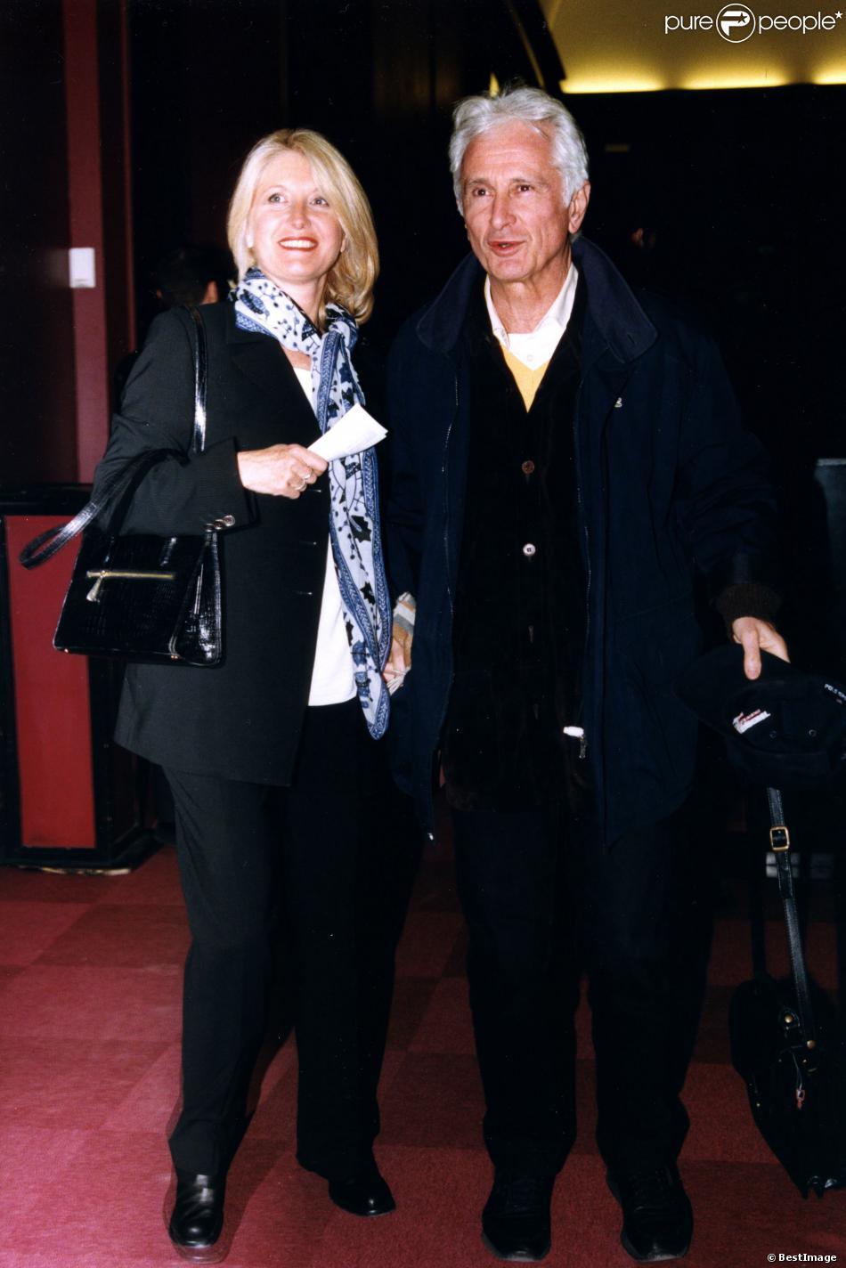 Marcel Amont et sa femme en 1998