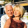 Marcel Amont et sa femme Marlène en Martinique le 15 janvier 2008.