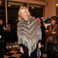 Marie-Christine Adam lors du gala Enfance Majuscule, salle Gaveau à Paris le 10 mars 2014