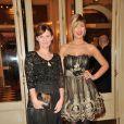 Annabelle Milot et Eléonore Boccara lors du gala Enfance Majuscule, salle Gaveau à Paris le 10 mars 2014