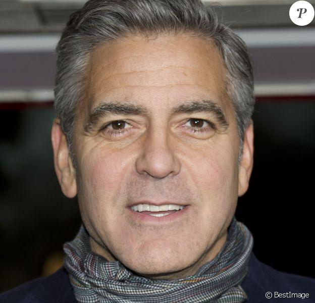 George Clooney à Londres, le 11 février 2014.