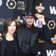 """Cyprien et sa chérie Aurélie - La cérémonie du Web """"Les Web Comedy Awards"""" à Bobino. Le 21 mars 2014"""
