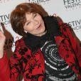 Macha Méril lors du photocall de la cérémonie de clôture du Festival 2 cinéma de Valenciennes au Gaumont Valenciennes le 22 mars 2014