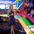 Enora Malagré présente Derrière le poste sur D8 - vendredi 28 mars 2014.