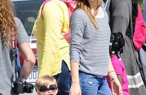 Jennifer Garner : Amusée par son délirant Samuel, élégante au travail sans Ben