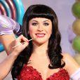 Une statue de cire de Katy Perry a été dévoilée au musée de Madame Tussauds à Londres. Le 2 avril 2014.
