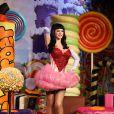 La statue de cire de Katy Perry inaugurée au musée de Madame Tussauds à Londres. Le 2 avril 2014.