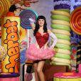 La statue de cire de Katy Perry a été dévoilée au musée de Madame Tussauds à Londres. Le 2 avril 2014.