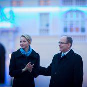 Charlene et Albert de Monaco : Soirée bleue au palais, en amoureux