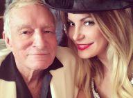 Hugh Hefner, 88 ans : Un bel anniversaire avec sa jeune épouse Crystal