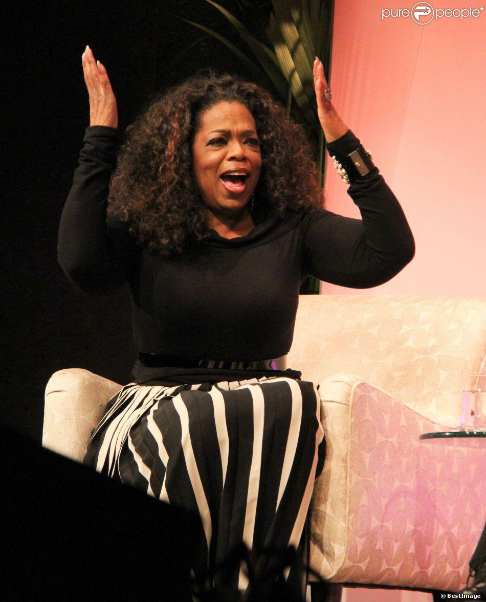 Oprah Winfrey - Cérémonie en l'honneur d'Oprah Winfrey lors du 29e festival du film de Santa Barbara, le 5 février 2014.