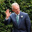 Tony Blair et Cherie Blair à Wooten Underwood, le 14 septembre 2013.