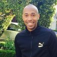 Thierry Henry en plein footing à Beverly Hills - avril 2014