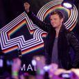 Nick Carter des Backstreet Boys lors d'un showcase à Madrid le 12 novembre 2013