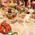 Lauren Kitt, qui a épousé Nick Carter des Backstreet Boys le 12 avril 2014 à Santa Barbara, publiait en mars 2014 une photo de sa tea party d'enterrement de vie de jeune fille.