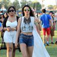 Kendall Jenner lors du 1er jour du Festival de Coachella à Indio, le 11 avril 2014.
