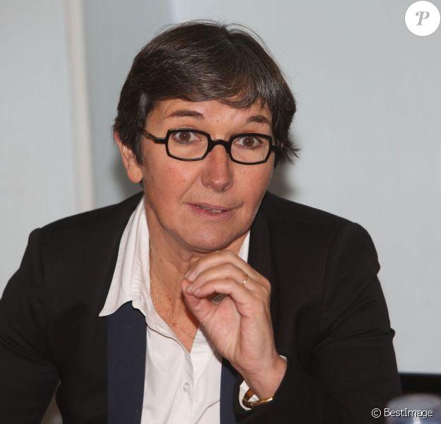Valerie Fourneyron - Conférence de presse de lancement du VIH pocket films, par le sidaction, à Paris, le 15 octobre 2013.