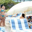 Serena Williams et ses formes profitent de quelques jours de repos du côté de Miami Beach, le 16 avril 2014