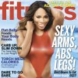 Serena Williams, en une du magazine Fitness du mois de mai