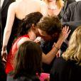 Kristen Stewart et Robert Pattinson au Palais des Festival, Cannes, le 25 mai 2012.