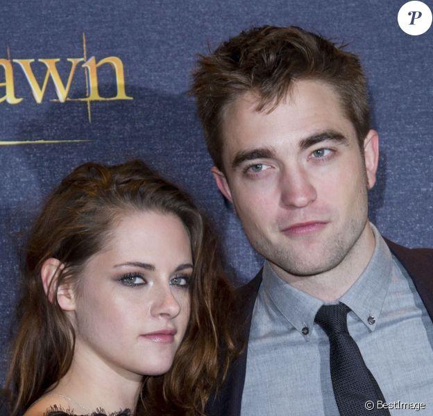 Kristen Stewart et Robert Pattinson à Londres, le 14 novembre 2012.