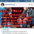 James Franco s'en prend violemment à un critique du New York Time, sur son Instagram.