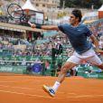Roger Federer lors des Rolex Masters de Monaco, le 18 avril 2014.